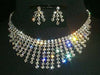 #11659 Graduated Spray Necklace and Earrings