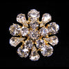 #11793G Round Pear Button - Gold Plated