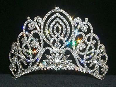 #11919 Large Living Orchid Tiara