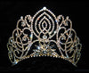 #11919G - Large Living Orchid Tiara - Gold Plated