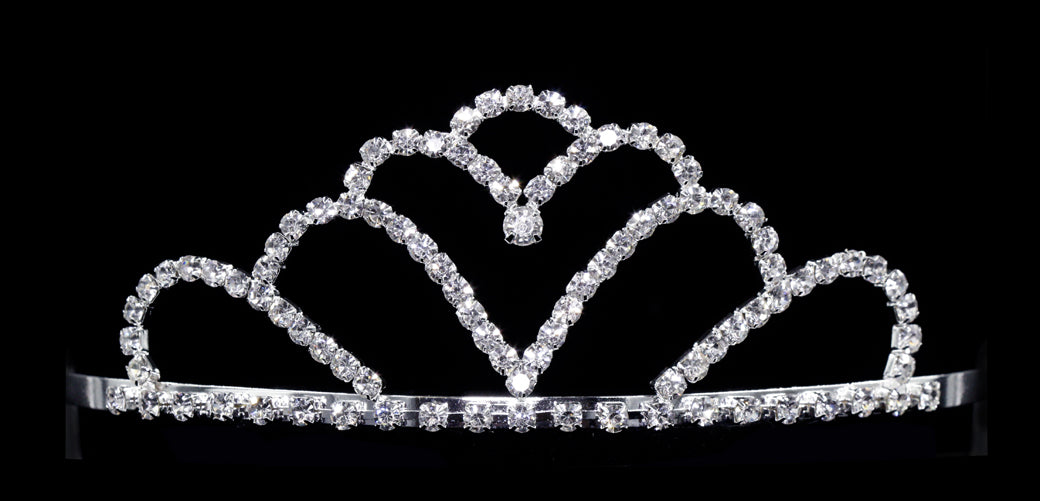 #12030 Saddled Hearts Tiara