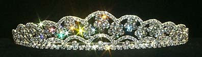 #12091 Floating Flowers Tiara