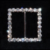 "#12098C - Square 1.25"" buckle - Made In China"