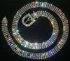 Rhinestone Belt - 5 Rows - 45""
