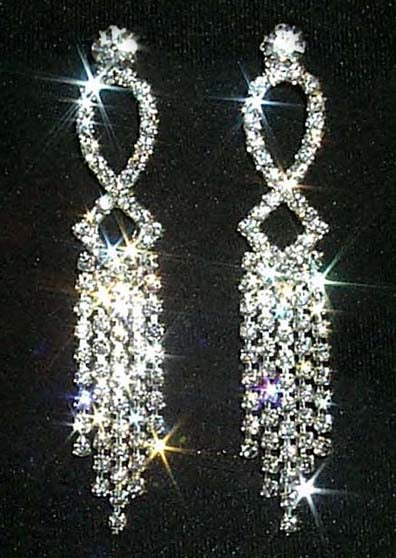 #12344 Weave Dangle Duster Earrings
