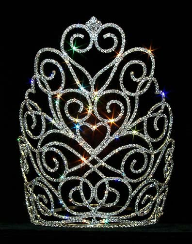 #12559 Victorian Heart Crown - Large