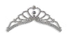 #12605 Bursting Heart Tiara Comb