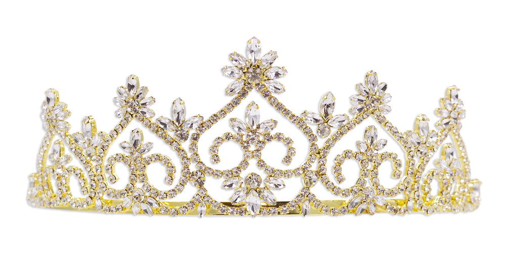 #13600 Royal Court Tiara - Gold