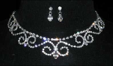 #14622 Soph Queen Necklace and Earring Set