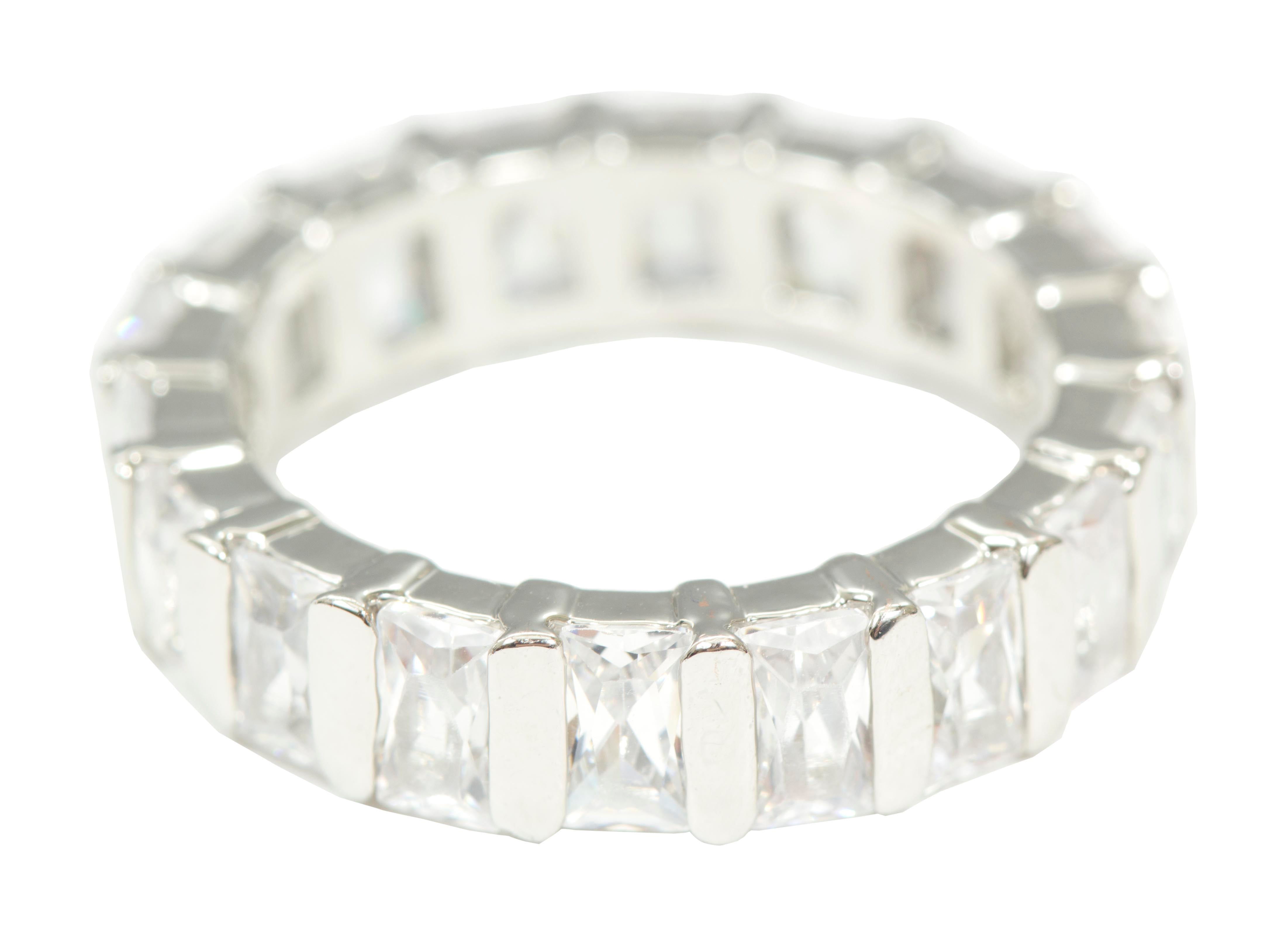 #15531 CZ Baguette Eternity Band