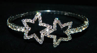 #15638 - Open Star Single Coil Bracelet