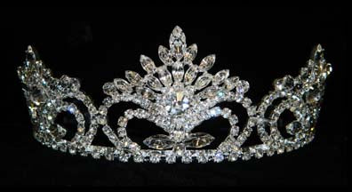 "#15705 Pageant Prize Tiara - 2.5"" Tall"
