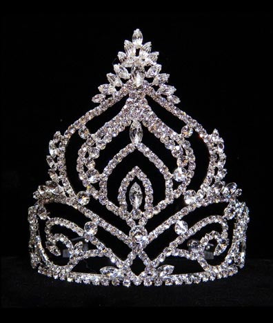 #15717 - Navette Mountain Tiara - 5.75""