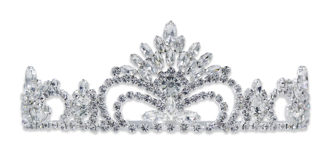 "#15743 Pageant Prize Tiara - 2.5"" Tall"