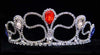 #16018RWB - Mystical Fountain Tiara - RWB