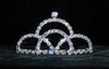 #16036 - Painted Mountain Tiara with Combs