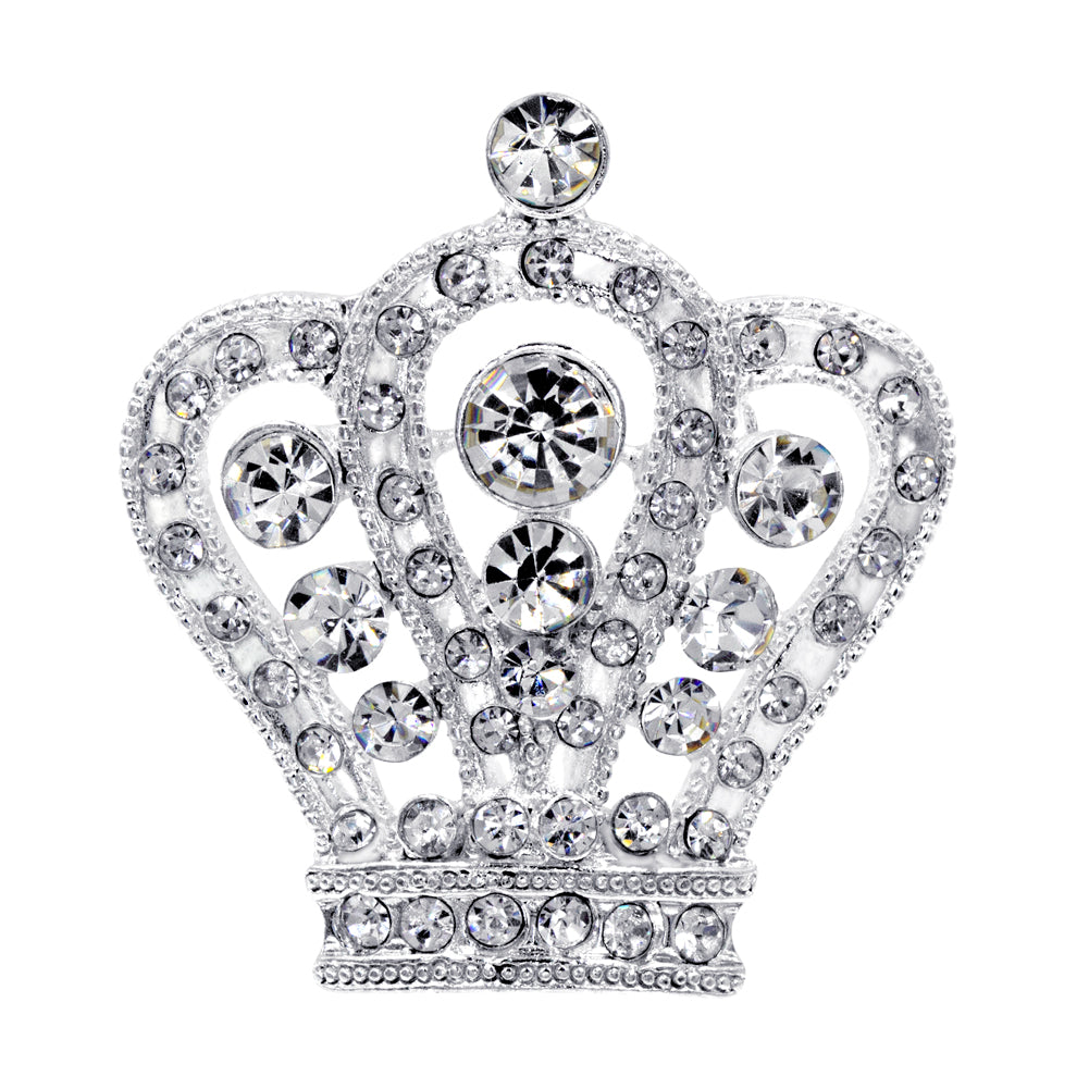 "#16064 - Regal Crown Pin - 1.5"" Tall"