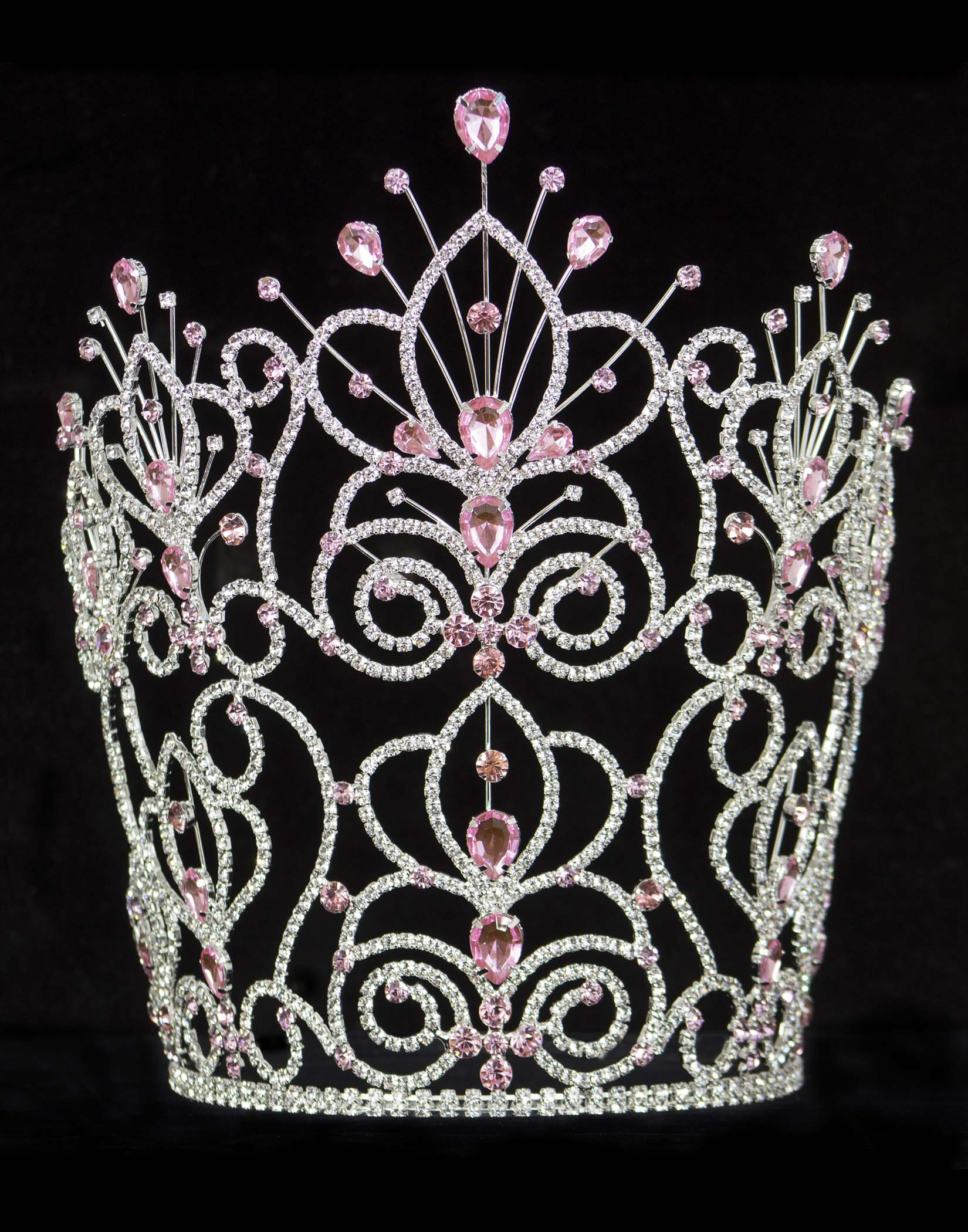 #16111 - Maus Spray Crown - Light Rose - 10""