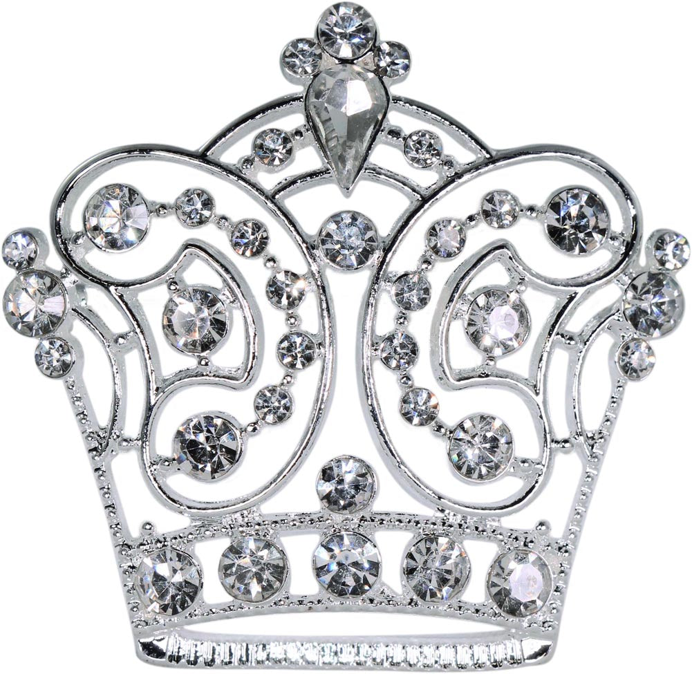 #16122 - French Majesty Crown Pin
