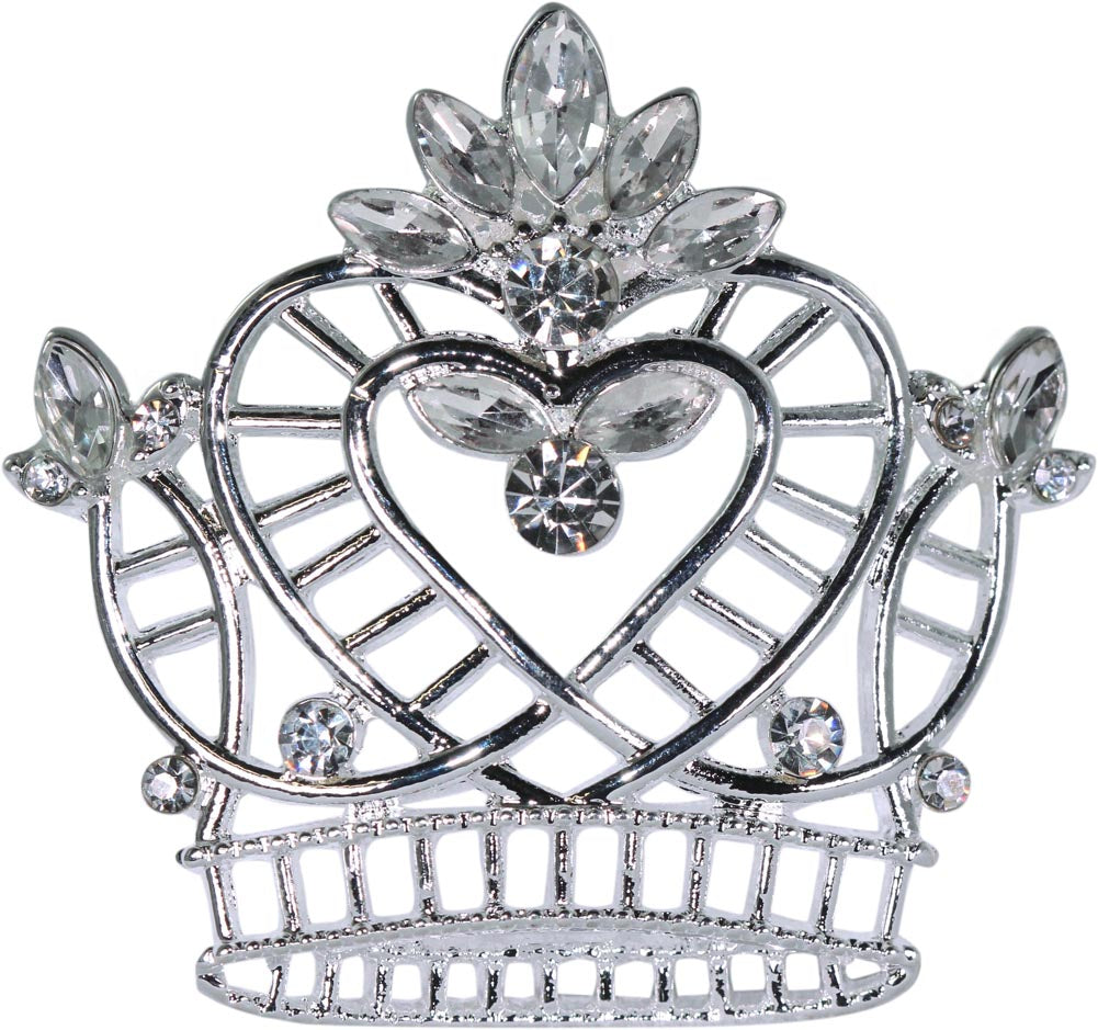 #16126 - Pageant Praise Wire Crown Pin