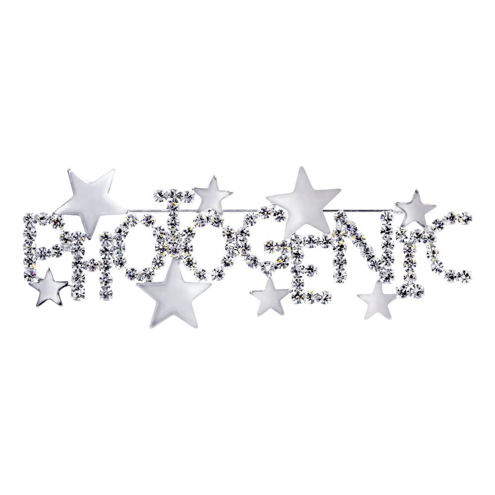 #16137 - Photogenic Stars Pin