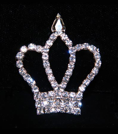 #16170 Taj Mahal Crown Pin