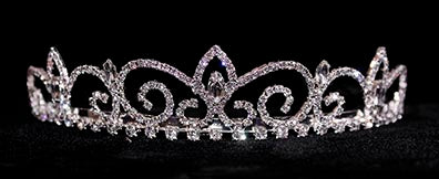 #16232 - Royal Regent Tiara with Combs