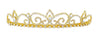 #16232G - Royal Regent Tiara with Combs - Gold Plated