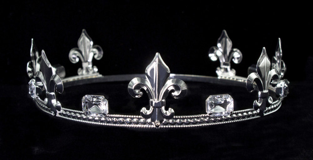 #16366XS Prince's Crown - Crystal Silver