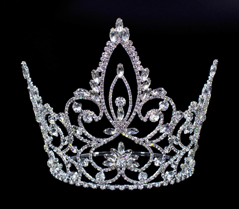 #16452 - Pageant Prime Adjustable Crown - 7.5""
