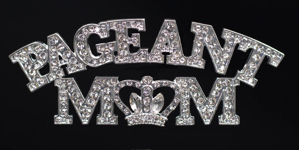 #16523 - Pageant Mom Pave Pin