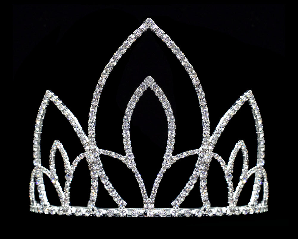 #16579 - Ancient Sovereign Tiara with Combs - 4.5""