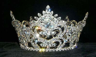 #8681 Pageant Prize Med Crown