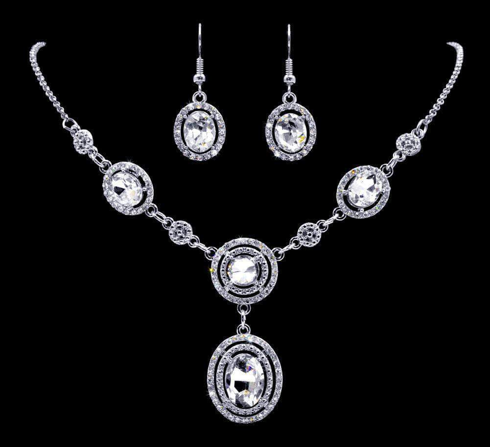 Necklace Sets - Low price #16946 - Ripple Effect Necklace and Earring Set