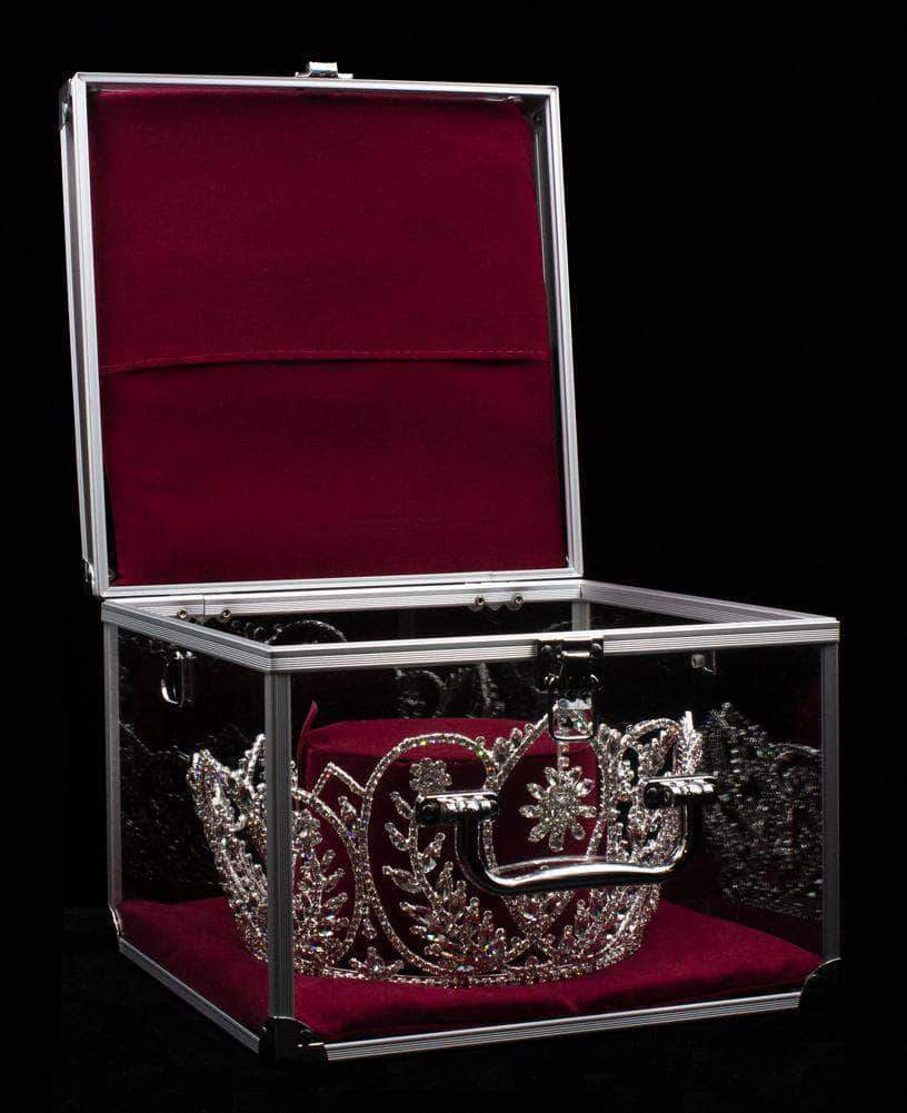 Tiara Bags & Cases LG Tiara and Crown Case - Burgundy Interior with Strap