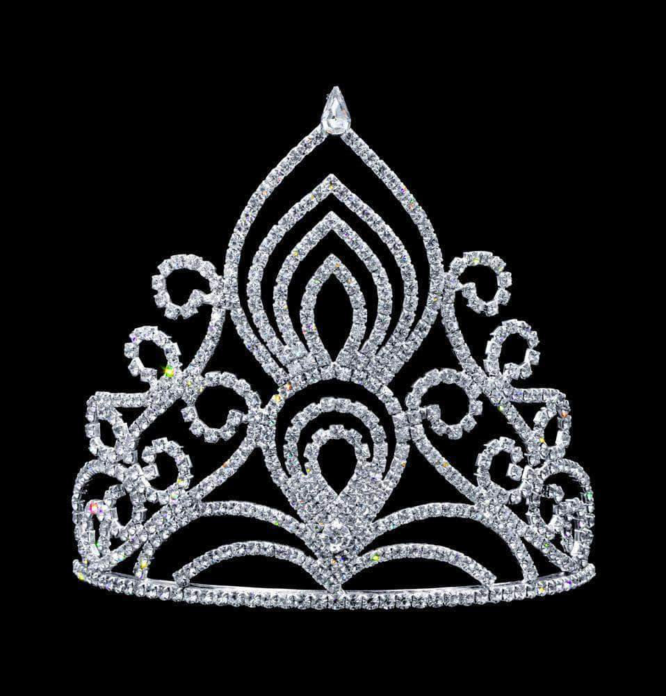"Tiaras & Crowns up to 6"" #17116 - Eastern Princess Tiara with Combs - 5.5"" (limited quantity)"