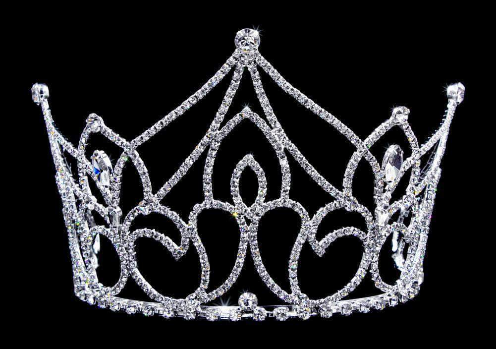 "Tiaras up to 4"" #16773 Netherland's Sun Princess Tiara - 4"" with Combs"