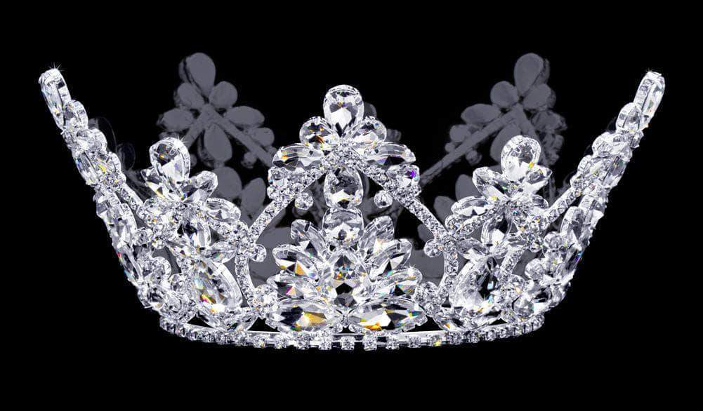 "Tiaras up to 4"" #16776 - Royal Arch Crown - 4"""
