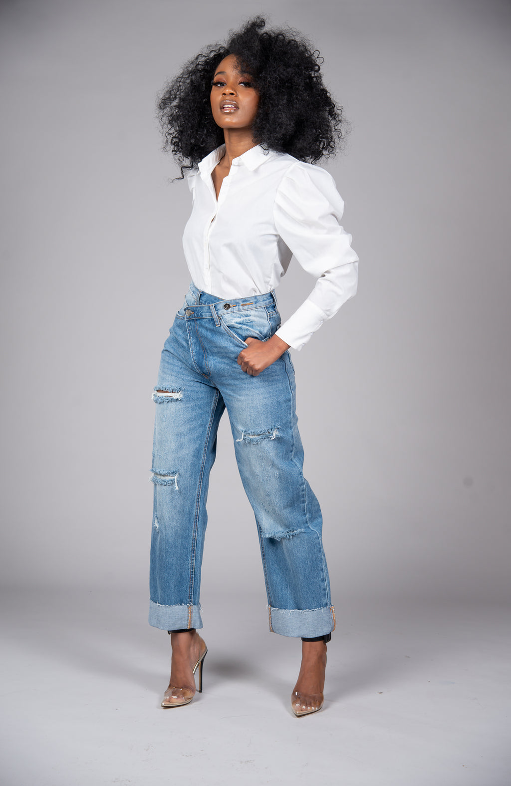 Trench & Wide Leg Pant Set - The Kyra Danaya Collection