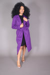 Olivia Pope Purple Pea Coat