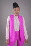 Suit Vest (Bright Purple)