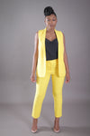 Suit Vest (Yellow)