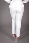 Cigarette Suit Pant (Off White)