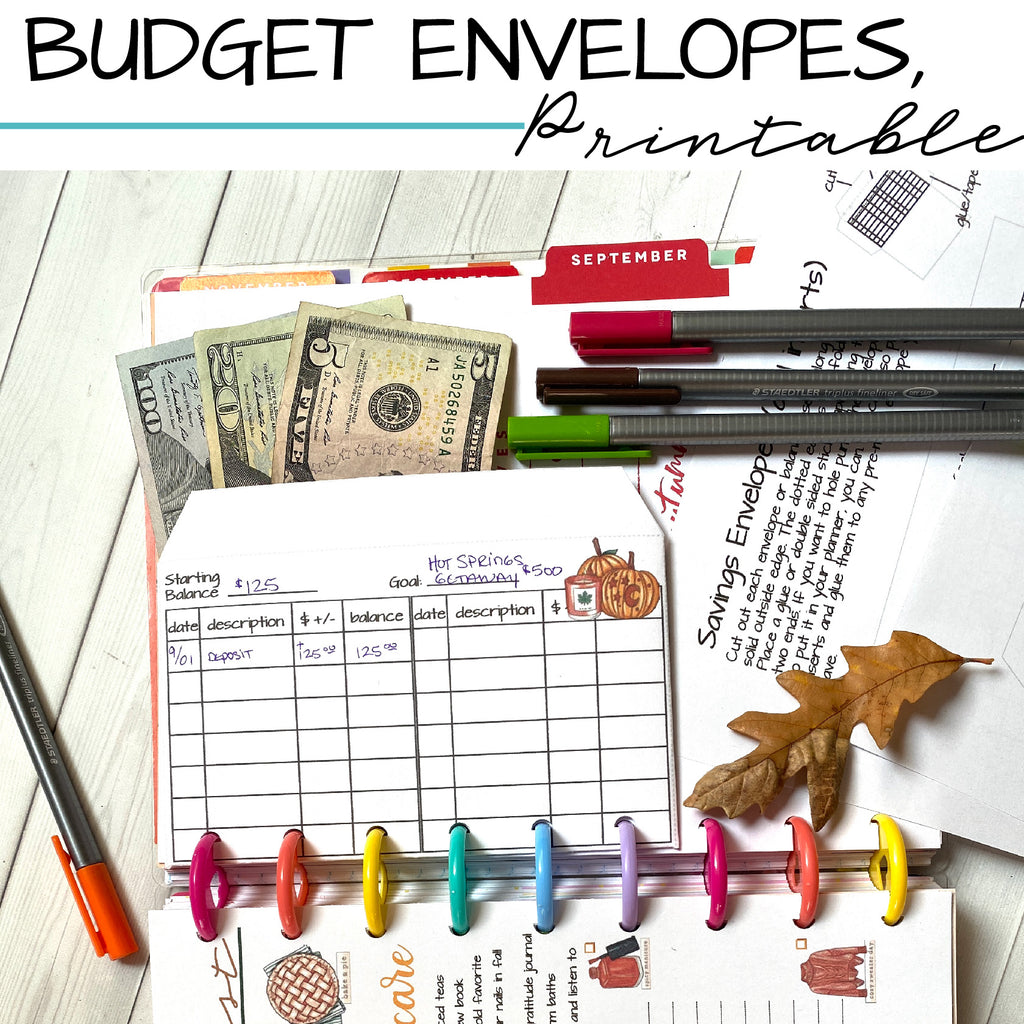 Budget Envelope Money System