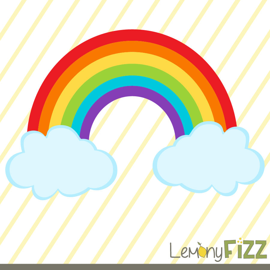 Rainbow Free SVG File