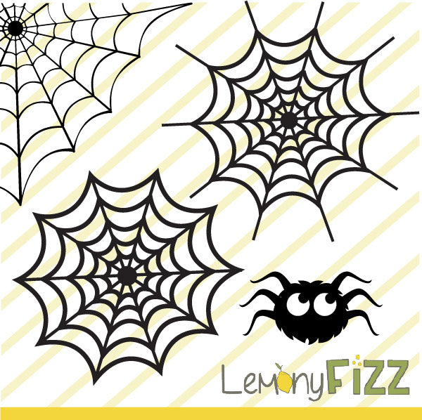 Spider Web Free SVG File