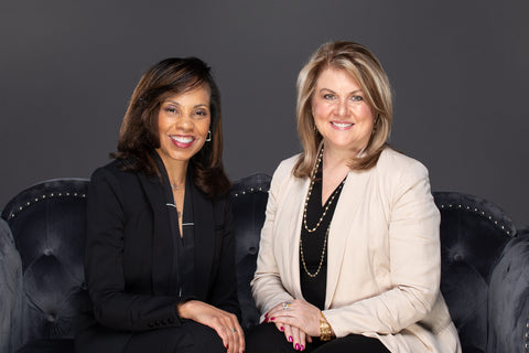 Luxe Co-founders Lisa Adkinson and Valerie Jones