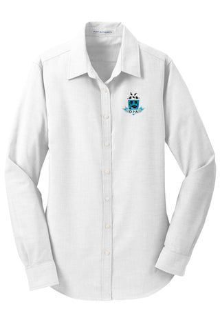 Girl's Long Sleeve Oxford