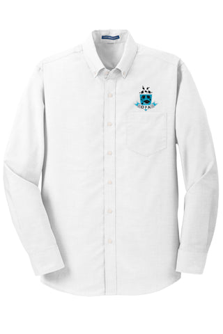 Unisex Long Sleeve Oxford