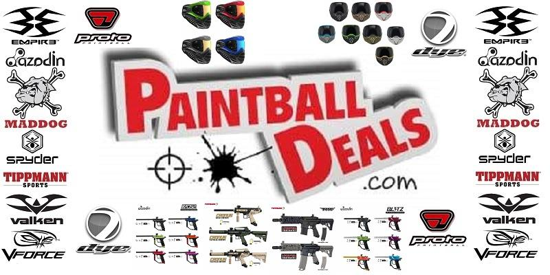 PaintballDeals.com Opens New Website - PaintballDeals.com